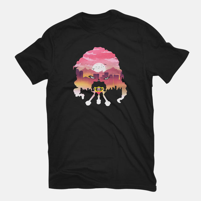 Warlord Night-womens fitted tee-dandingeroz