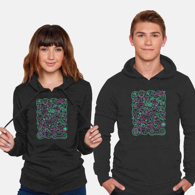 Retro Game Love-unisex pullover sweatshirt-CoD Designs