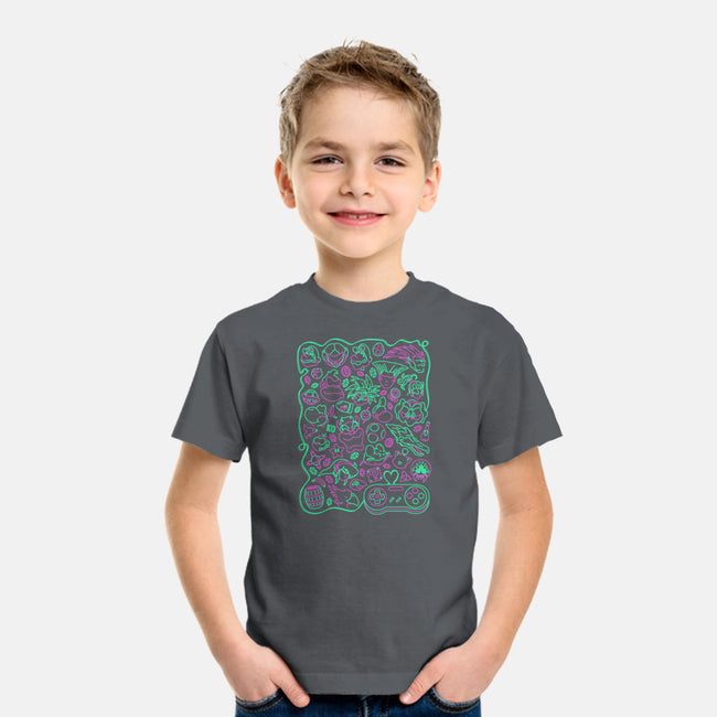 Retro Game Love-youth basic tee-CoD Designs