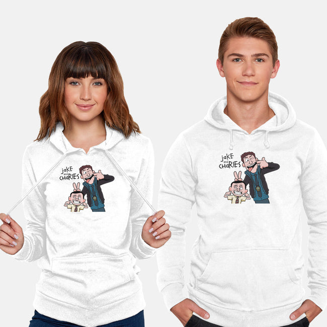 Jake and Charles-unisex pullover sweatshirt-jasesa