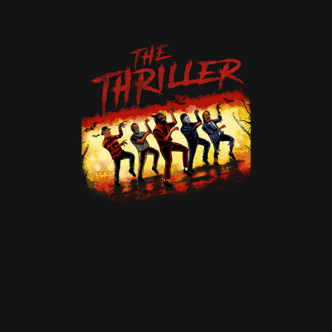 The Thriller Squad-womens fitted tee-pujartwork
