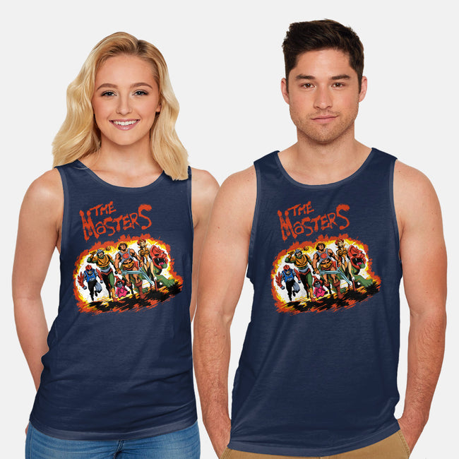 The Masters-unisex basic tank-zascanauta