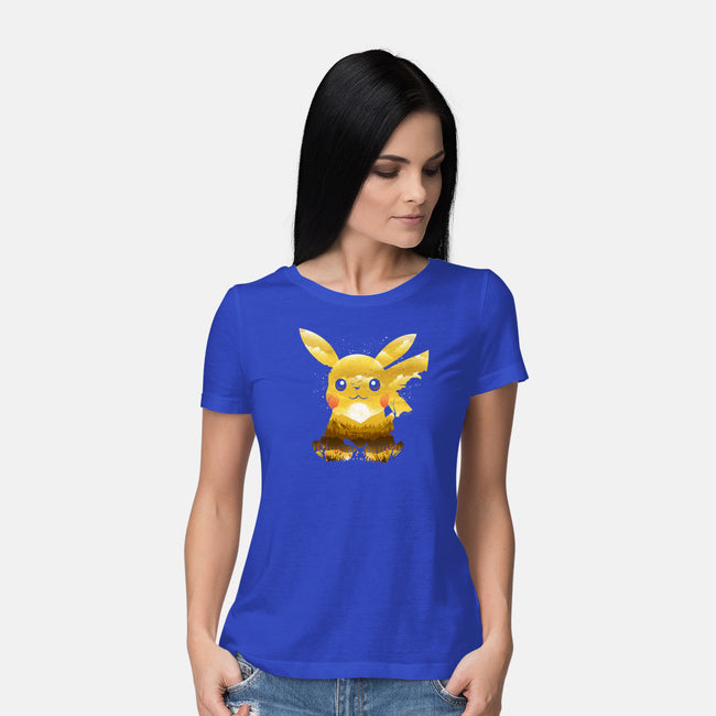 Adorable Monster-womens basic tee-dandingeroz