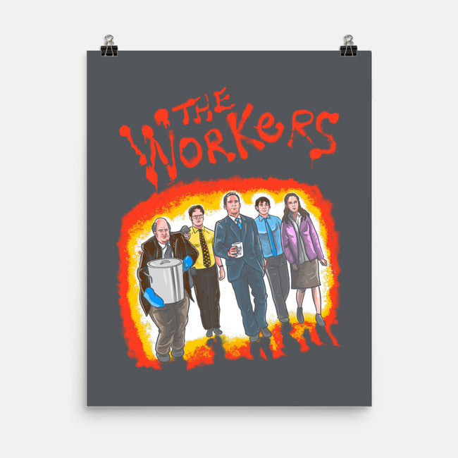 The Workers-none matte poster-MarianoSan