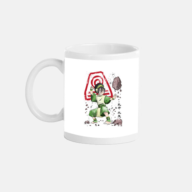 The Power of the Earth Kingdom-none glossy mug-DrMonekers