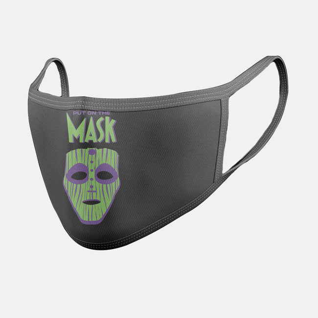 Put on The Mask-unisex basic face mask-Cris7.7