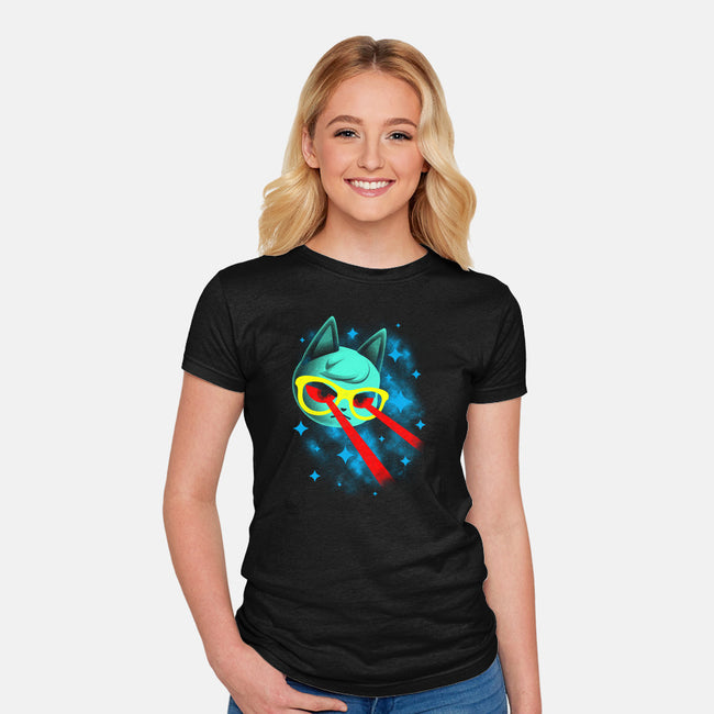 Ray's Big Adventure-womens fitted tee-xxshawn