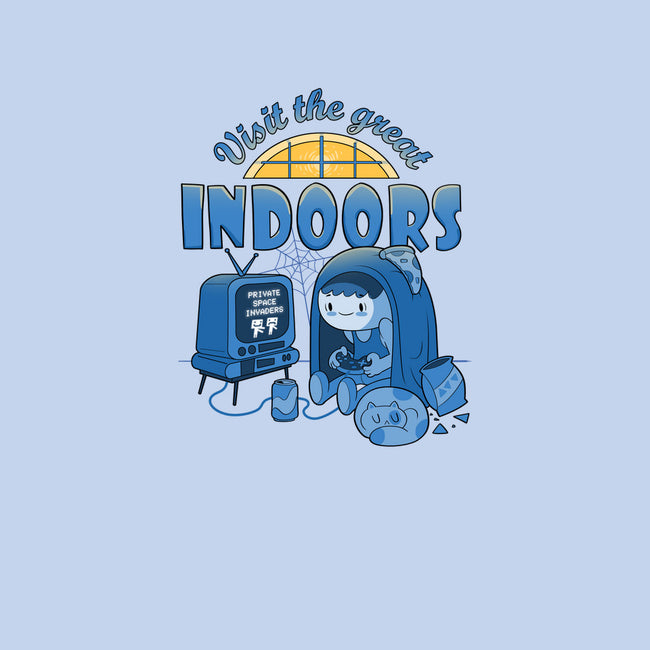 Visit The Great Indoors-womens basic tee-queenmob