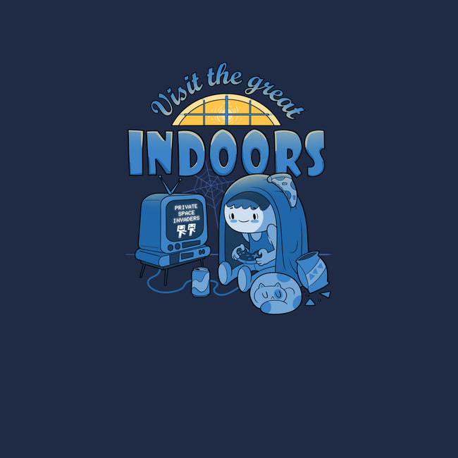 Visit The Great Indoors-mens basic tee-queenmob
