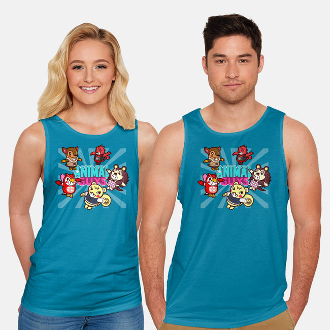 Animal Guys-unisex basic tank-Boggs Nicolas