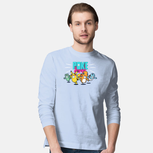 Poke Guys-mens long sleeved tee-Boggs Nicolas