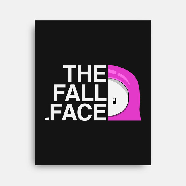 The Fall Face-none stretched canvas-shirox