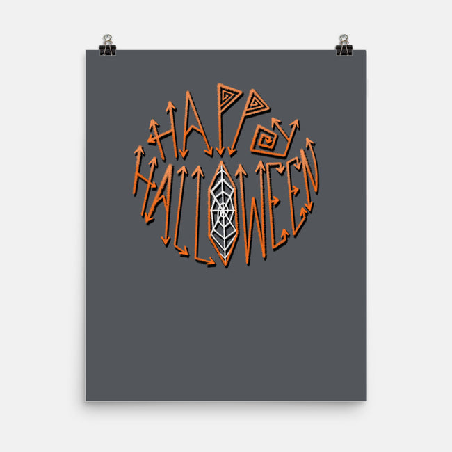 Happy Halloween-none matte poster-Todd's Hollow