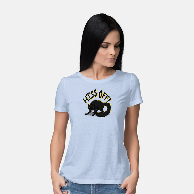 Hiss Off-womens basic tee-Todd's Hollow