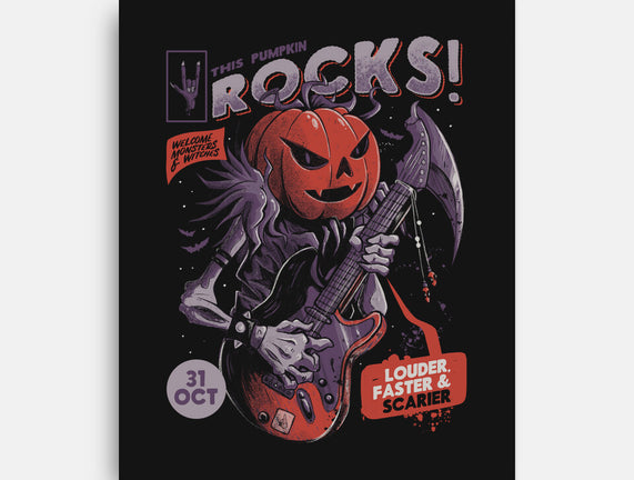 Rock Pumpkin