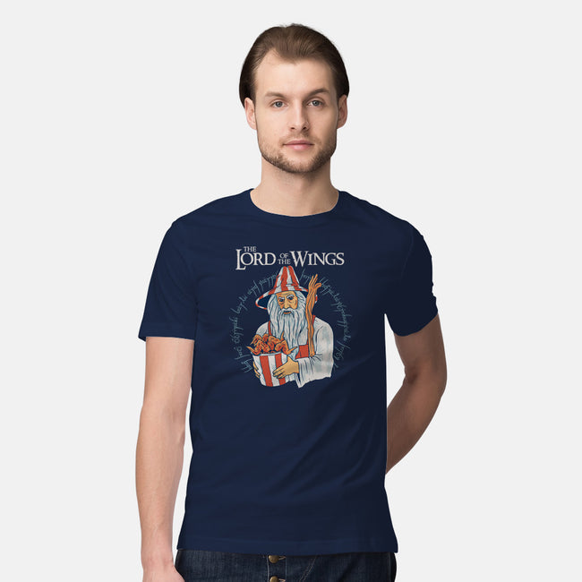 The Lord of The Wings-mens premium tee-gaci
