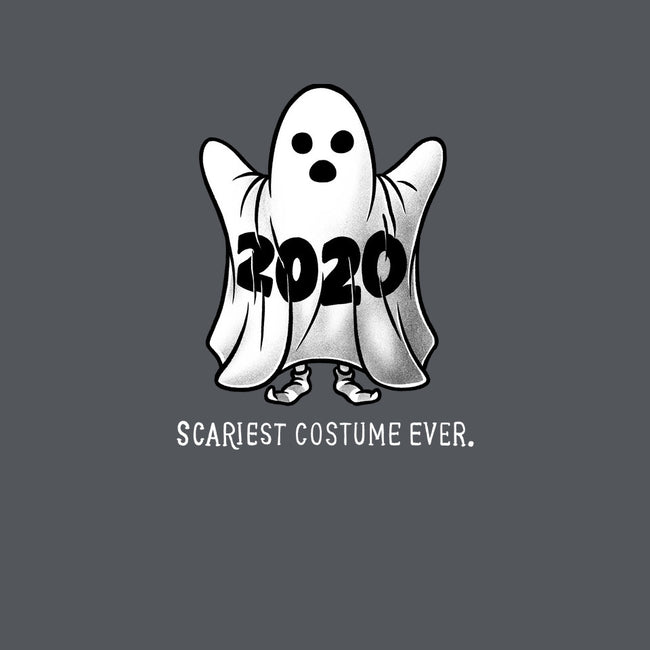 Scariest Costume Ever-none glossy sticker-eduely