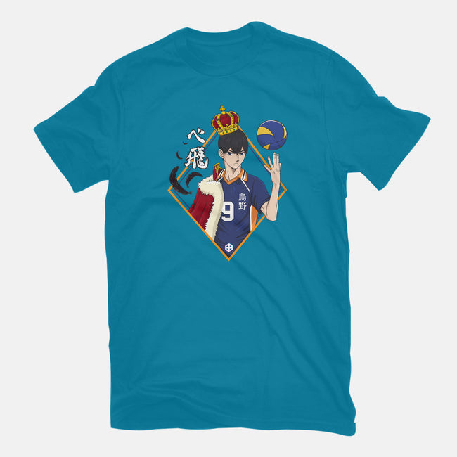 King of the Court-womens fitted tee-TeeTowR