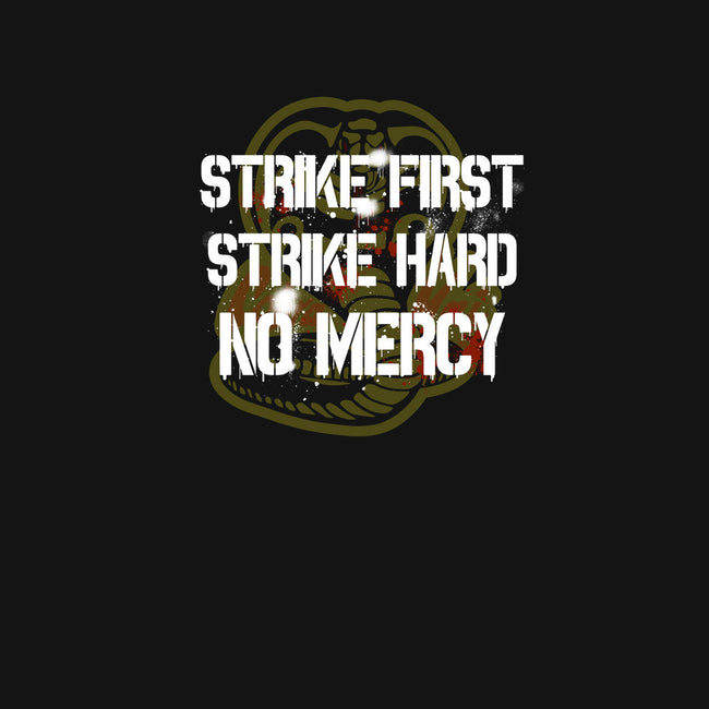 Strike First-none matte poster-dumbassman