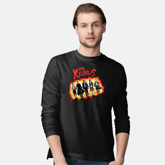 The Keanus-mens long sleeved tee-zascanauta