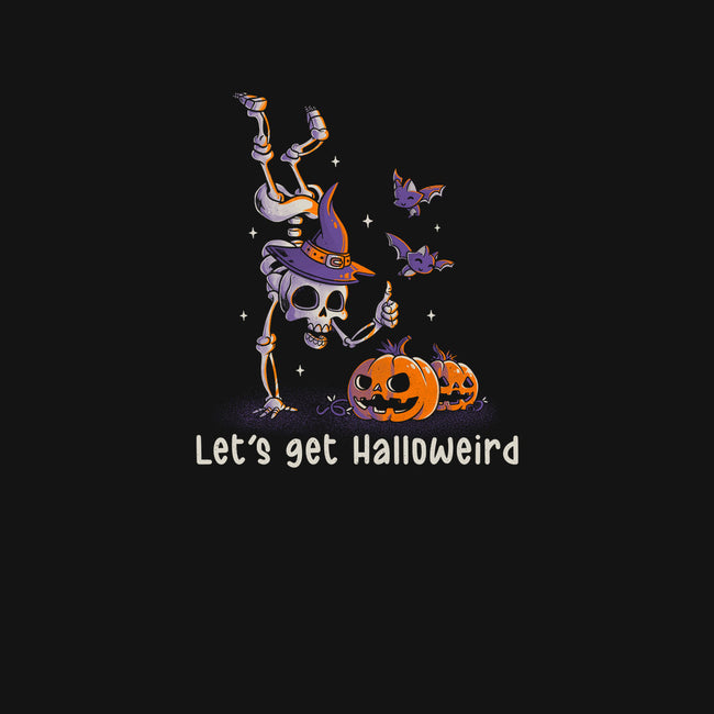 Let's get Halloweird-youth basic tee-eduely