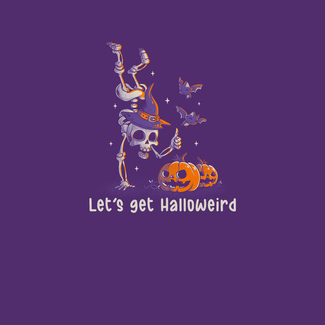 Let's get Halloweird-womens basic tee-eduely