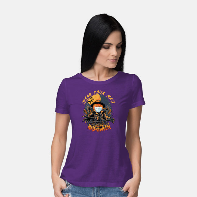 Halloween 2020-womens basic tee-T33s4U