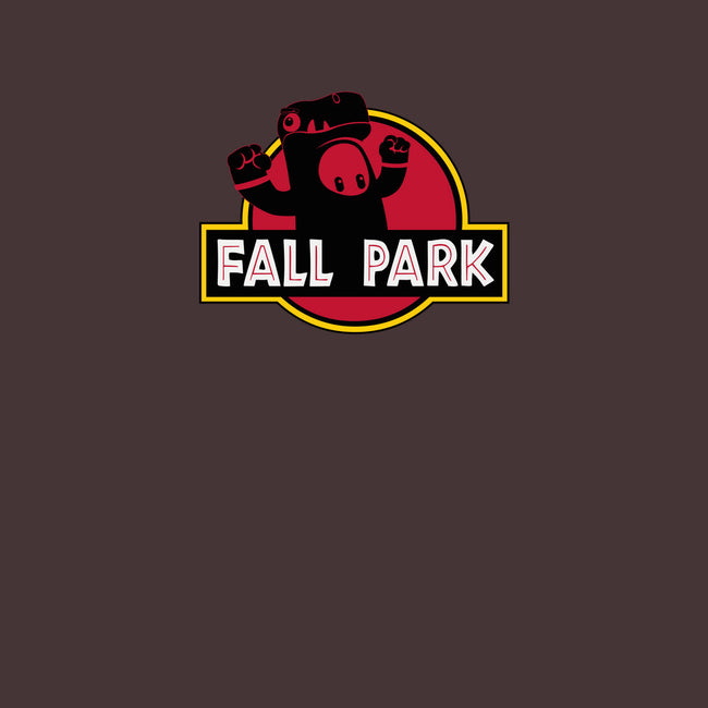 Fall Park-mens basic tee-retrodivision