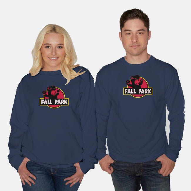 Fall Park-unisex crew neck sweatshirt-retrodivision