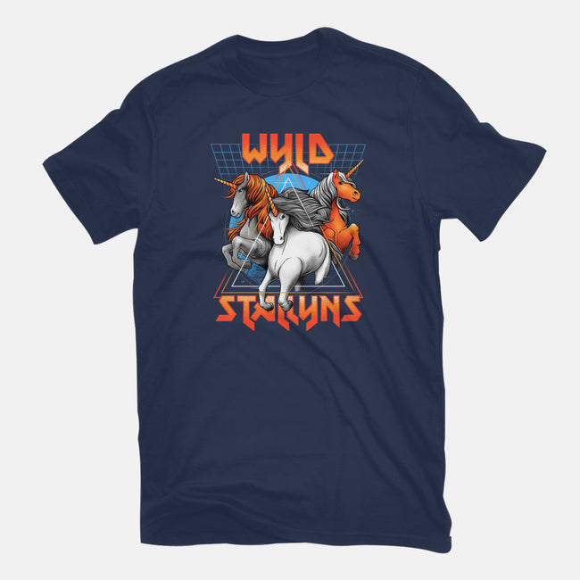 Stay Wyld-mens basic tee-glitchygorilla