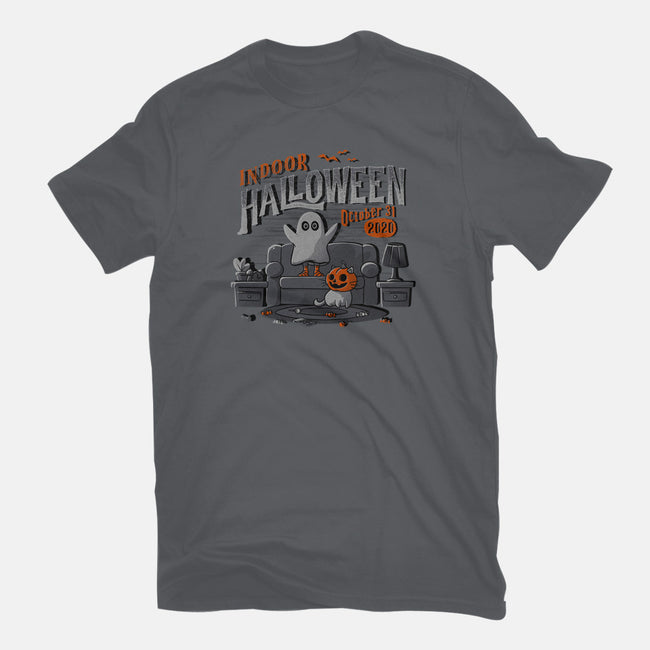 Indoor Halloween-youth basic tee-eduely