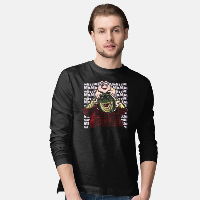 Burned In My Mind-mens long sleeved tee-MarianoSan