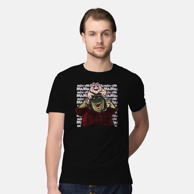 Burned In My Mind-mens premium tee-MarianoSan
