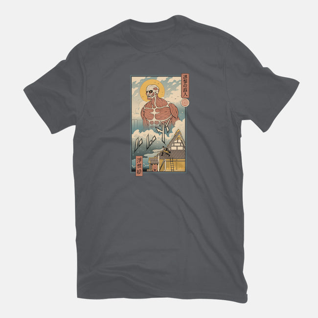 Titan In Edo-mens basic tee-vp021