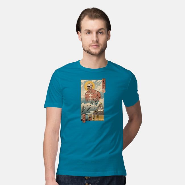 Titan In Edo-mens premium tee-vp021