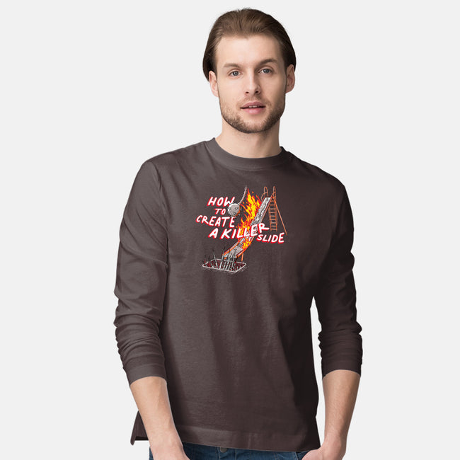 Killer Slide-mens long sleeved tee-rocketman_art