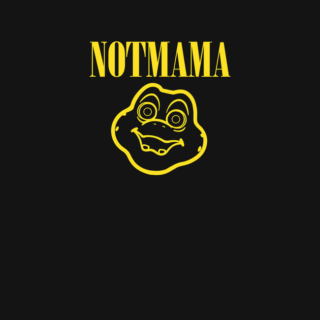 Notmama-mens basic tee-Raffiti
