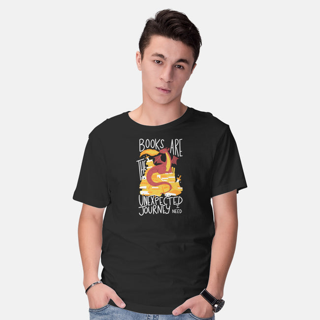 Book Dragon-mens basic tee-TaylorRoss1