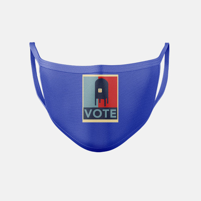 Vote-unisex basic face mask-TeeFury