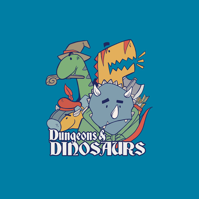 Dungeons and Dinosaurs-womens basic tee-T33s4U