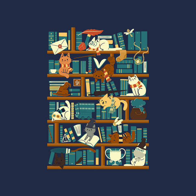 Library Magic School-mens basic tee-TaylorRoss1