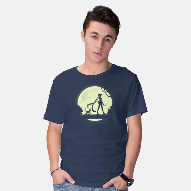 Moon Walk-mens basic tee-BlancaVidal
