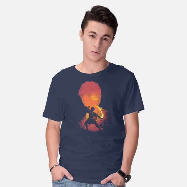 Prince Of Fire-mens basic tee-Donnie
