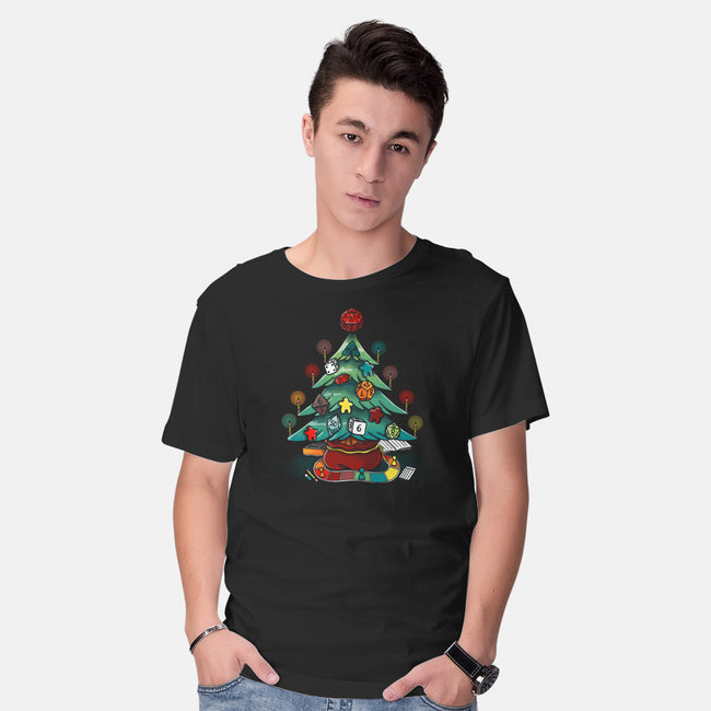 Game Christmas-mens basic tee-Vallina84