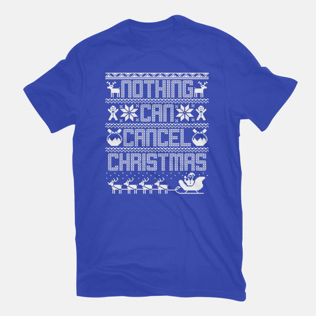 Nothing Can Cancel Christmas-mens basic tee-Boggs Nicolas