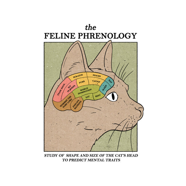 The Feline Phrenology-mens basic tee-Thiago Correa