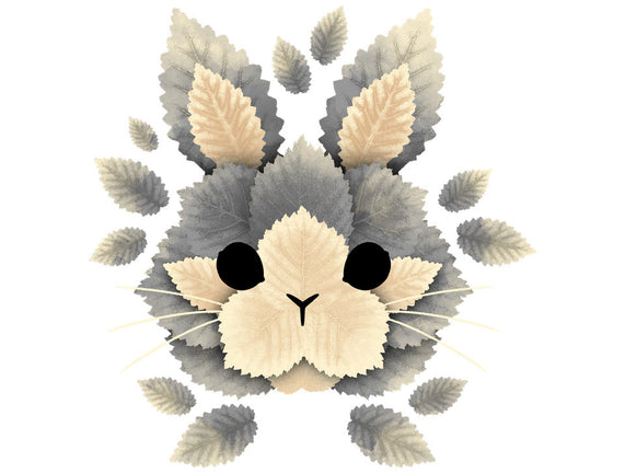 Bunny Of Leaves