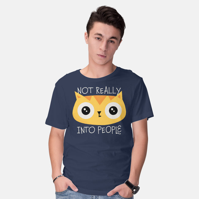 Not Really Into People-mens basic tee-zawitees