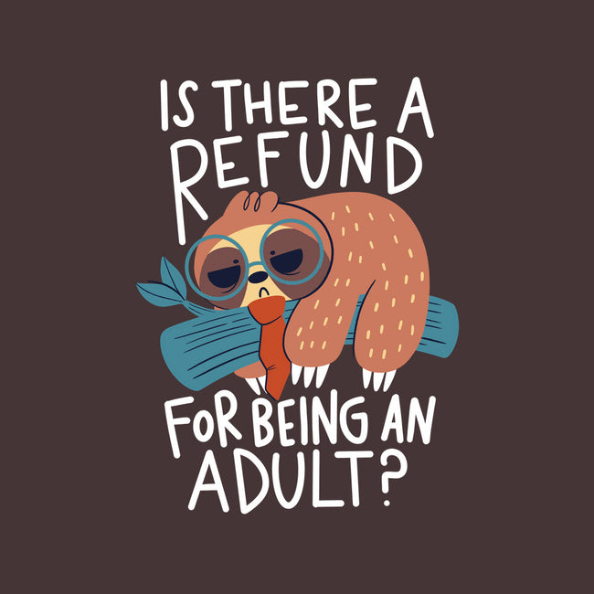 Adulting Refund-none matte poster-TaylorRoss1