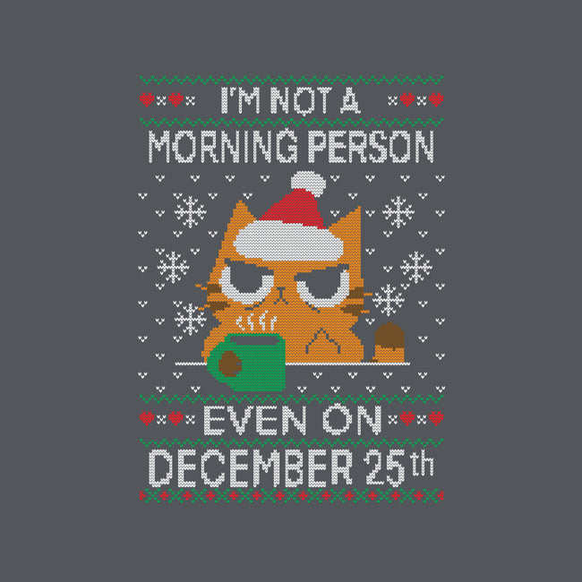 Grumpy Xmas Morning-mens basic tee-TaylorRoss1